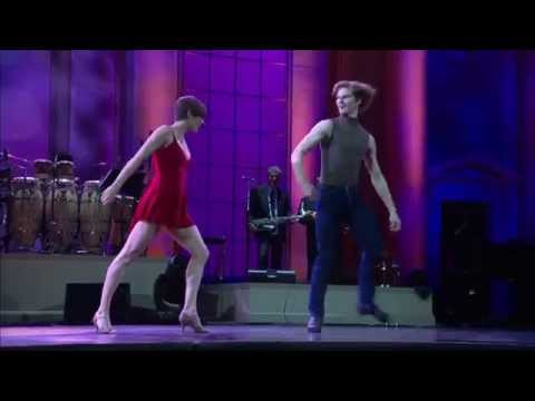 "Choreographer Twyla Tharp Dancers'  ""Movin' Out"""