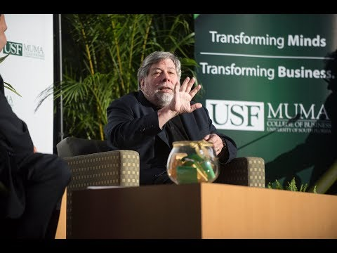 USF Muma College of Business Thought Leader Series Featuring Apple CoFounder Steve Wozniak