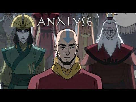 Avatar der Herr der Elemente Analyse | Die Legende von Korra Mysterium ...
