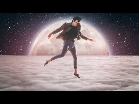 Jumping to The Moon - Photoshop Manipulation Tutorial