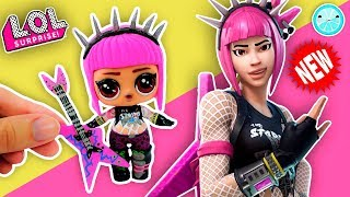 DIY Fortnite LOL Surprise DOLL customs | NEW LEGENDARY Custom SKIN Tutorial