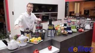 Thomas vous présente les presse fruits, blenders et centrifugeuses - Electros et Cuisines DEFITEC