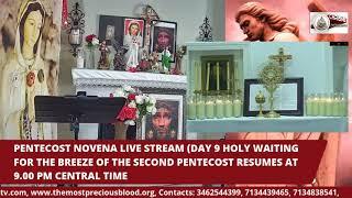PENTECOST NOVENA LIVE STREAM- USA( Day 9, Continued)