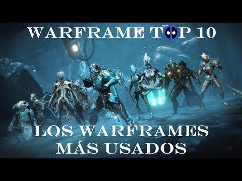Warframe Top 10 - Los Warframes más usados thumbnail