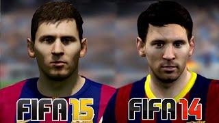 FIFA 15 vs FIFA 14 - Graphics Comparison (Next-Gen)   HD 1080p