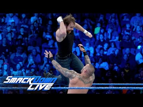 Dean Ambrose vs. Randy Orton: SmackDown LIVE, Jan. 17, 2017