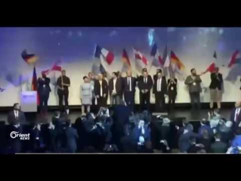 تخوف من صعود اليمين المتطرف في فرنسا متمثلا بـماري لوبن زعيمة الجبهة الوطنية  - 13:20-2017 / 4 / 23