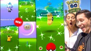 SAFARI ZONE QUARANTINE - NEW SHINY POKÉMON EVERYWHERE! WHAT A DAY in Pokémon GO!