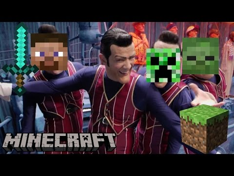 We Are Number One But its a Minecraft Parody
