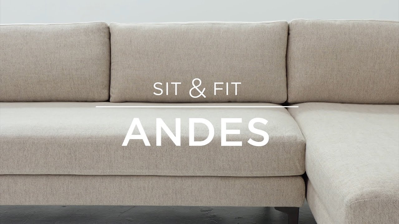 Sit Fit Andes Sectional You
