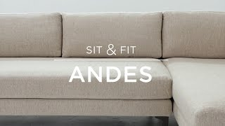 Sit & Fit: Andes Sectional