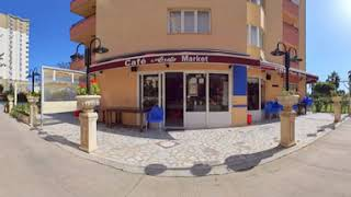 360° Virtual Walkthrough Tour- Supermarket Cafe-Restaurant for sale in Liparis 3 residential complex