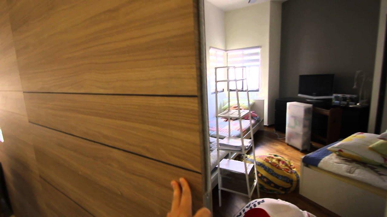 Bayshore Park Condominium Renovation By PLUS Interior Design   Carpentry  Sliding Door
