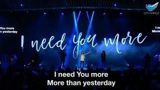 Download I Need You More (Jesus Culture) @CHC // Renata Triani Mp3 and Videos