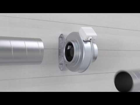 Вентиляция Комфортная линия Саратов Systemair K Fan Канальный вентилятор