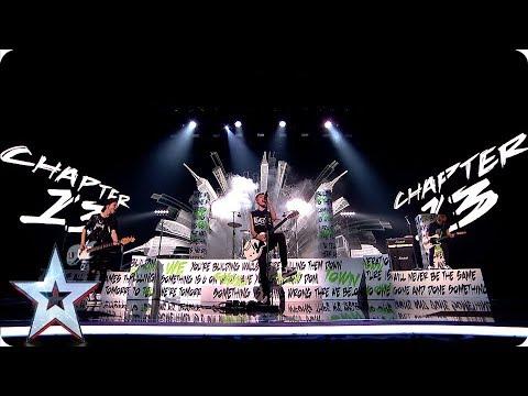 Teenage Rockers Chapter 13 ROCK The BGT Stage | Semi-Finals | BGT 2019