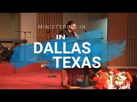 Rev Lucy Natasha Ministering In Dallas Texas