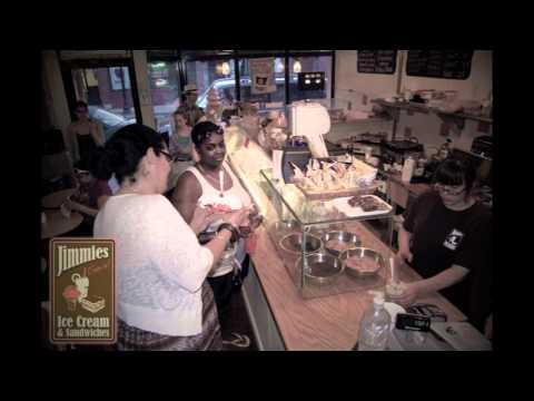 Jimmies Ice Cream Cafe in Roslindale Village