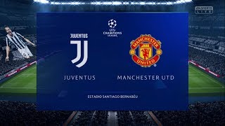 FIFA 19 Juventus vs. Manchester United Gameplay DIFFICULTY LEVEL: LEGENDARY[1080p]