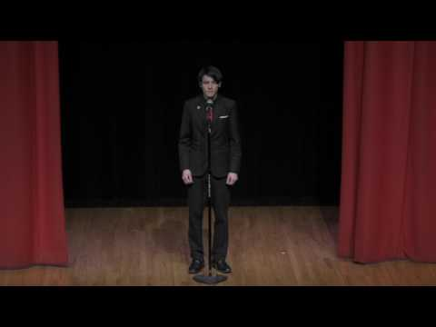 Poetry Out Loud 2017