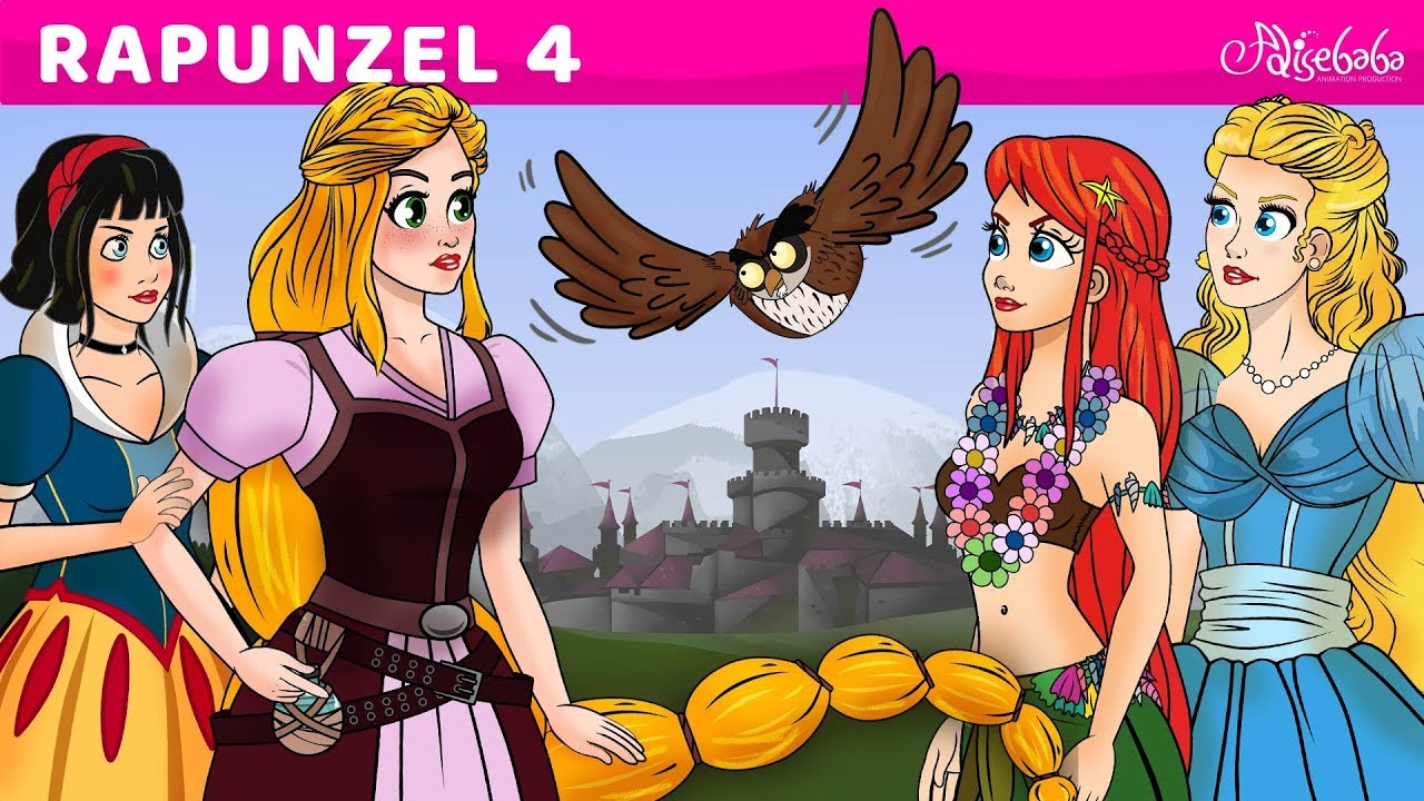 Download Rapunzel Series Episode 4 - Princess Squad - Fairy Tales and Bedtime Stories For Kids in English