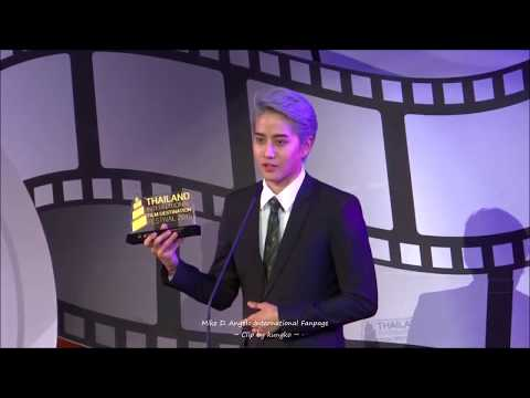 [Eng Sub] AoMike @ Thailand Film Festival -  Thank you for the awards