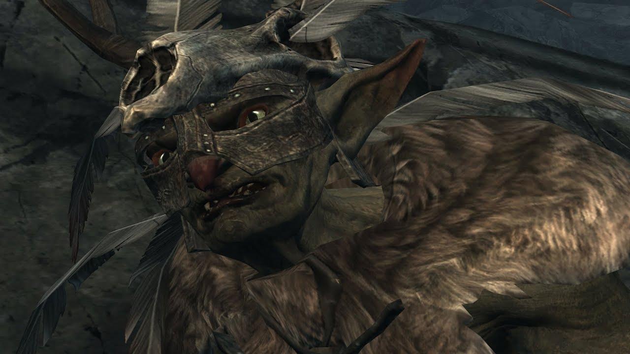 Warrior Girl Wallpaper Skyrim Battle Goblins Vs The Skeletal Army Youtube