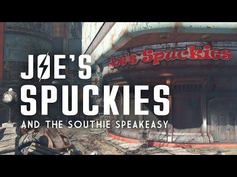 Joe's Spuckies, Postal Square,  Parson's Creamery, & the Southie Speakeasy - Fallout 4 Lore