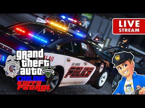 GTA 5 Police Roleplay Online - KUFFS Patrol #11 | GTA 5 LSPDFR Online FiveM Multiplayer RP Server