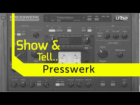 Presswerk - The Only Compressor Plugin You Will Ever Need!?!
