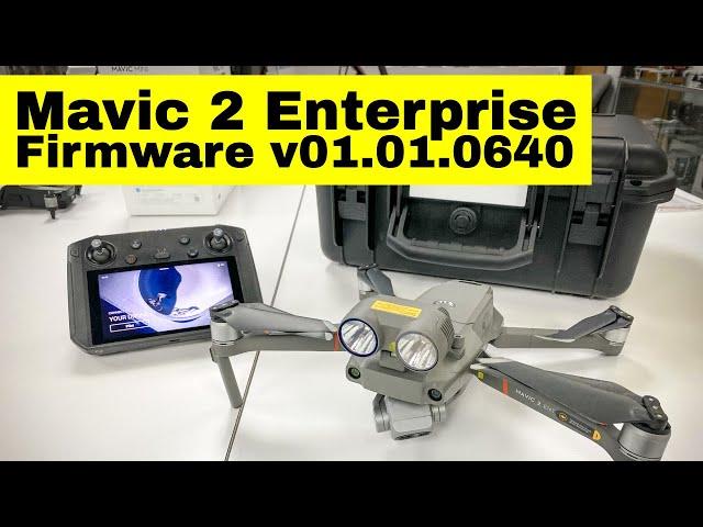 DJI Mavic 2 Enterprise Firmware v01.01.0640