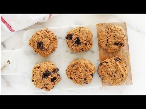 Pumpkin Chocolate Chip Cookies | healthy, vegan, paleo recipes