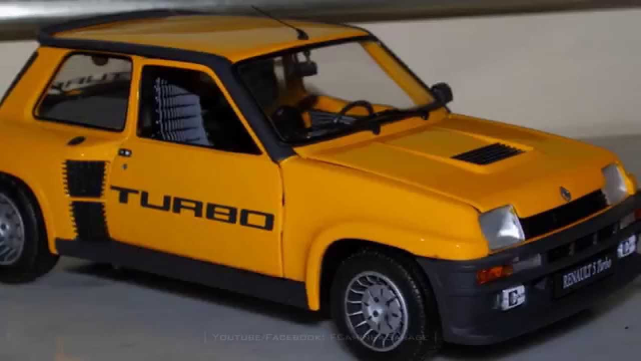 1 18 renault 5 turbo g rard larousse 1981 fcaminhagarge. Black Bedroom Furniture Sets. Home Design Ideas