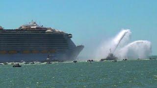 Weltgrößtes Kreuzfahrtschiff vom Stapel gelaufen