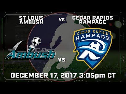 St Louis Ambush vs Cedar Rapids Rampage