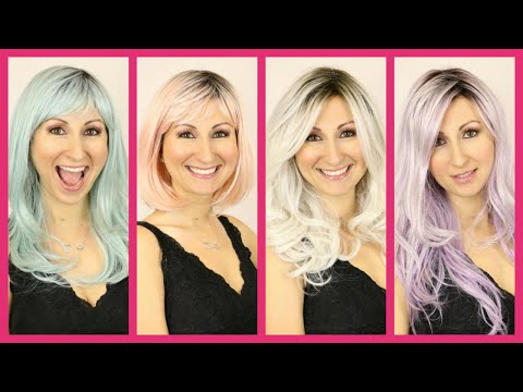 New Pastel Colored Wigs - Costume Wigs, Halloween Wigs, Anime Wigs