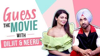 Guess the movie with Diljit & Neeru | Shadaa | Pinkvilla