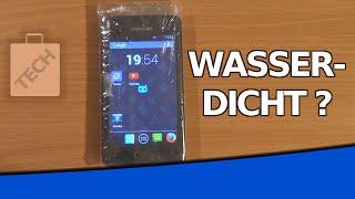 SMARTPHONE WASSERDICHT DURCH PLASTIKTÜTE? | Experiment