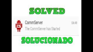 Cómo desactivar The Commserver Has Started -  Motorola G1-G2-G3-G4-G4 PLAY-X-X2-X PLAY-E-E2