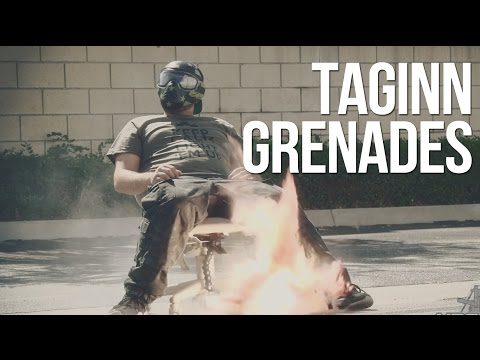 Tactical Game Innovation TAGINN Projectile Airsoft Grenades - AirSplat On Demand