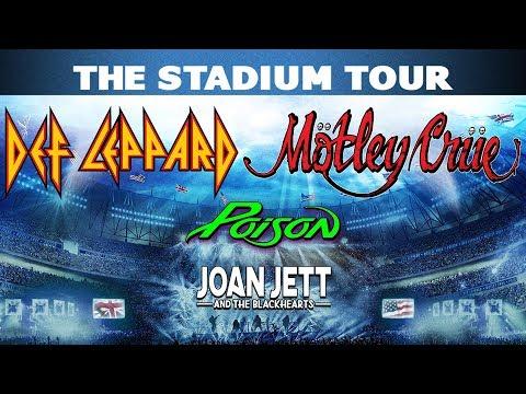 David Fisch - Def Leppard, Motley Crue & Poison: 2020 Stadium Tour