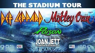 Def Leppard & Mötley Crüe - The Stadium Tour 2020