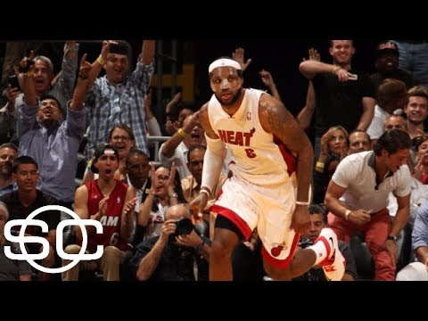 8b81a3e341f8 LeBron James  top 10 scoring moments on the road to 30