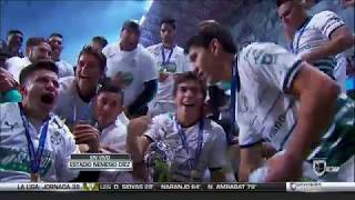 embeded bvideo Entrega de medallas y trofeo de Campeón - Santos Campeón