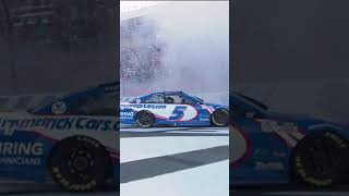 Kyle Larson's burnout after winning 7th race of the year   #shorts   NASCAR