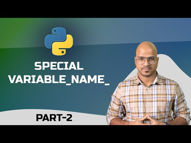 #47 Python Tutorial for Beginners | Special Variable __name__ part 2