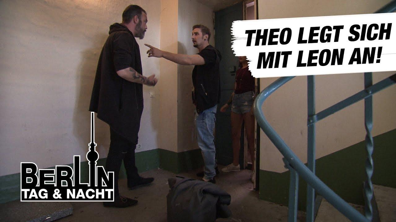 Berlin - Tag & Nacht - Theo legt sich mit Leon an #1715 - RTL II