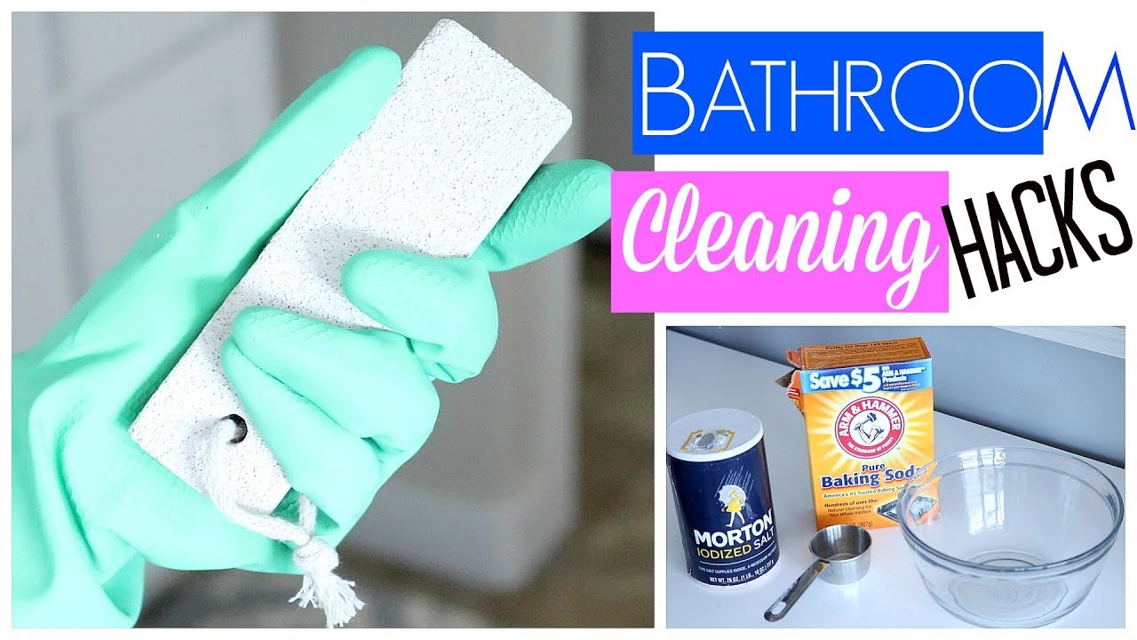 bathroom cleaning hacks tested make cleaning easier - Bathroom Cleaning Hacks