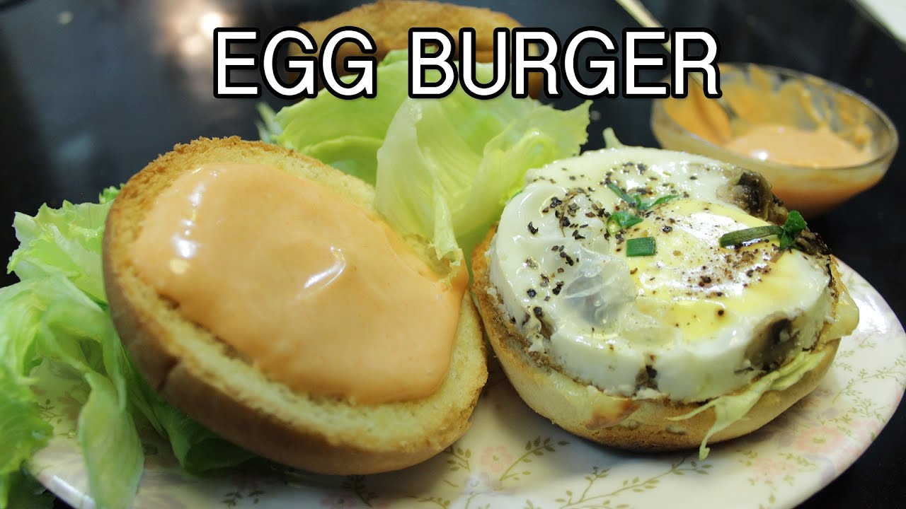 How To Cook An Egg To Put On A Burger