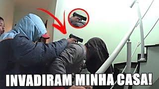 TROLLEI COM BANDIDOS INVADINDO MINHA CASA!!